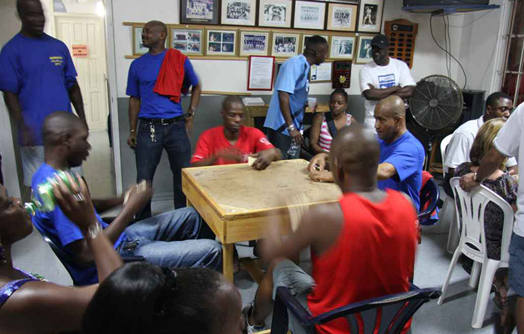 Dominoes tournament in Barbados
